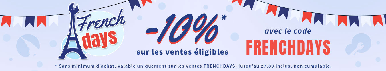 FRENCH DAYS CODE PROMO