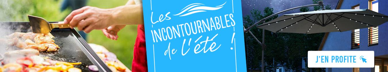 INCONTOURNABLES ETE