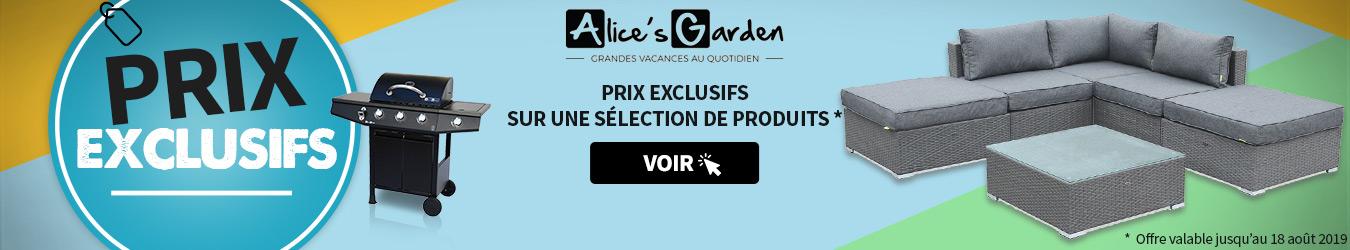 PRIX EXCLU ALICE GARDEN