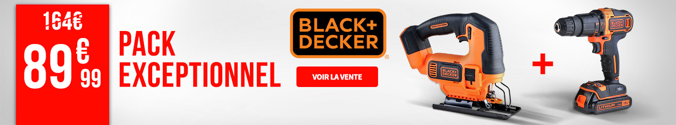 PACK BLACK & DECKER