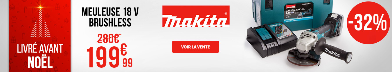 MEULEUSE D'ANGLE MAKITA