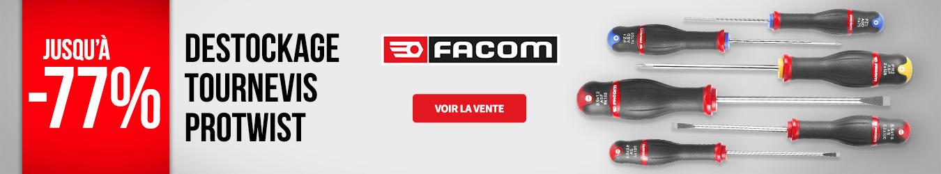 DÉSTOCKAGE TOURNEVIS FACOM