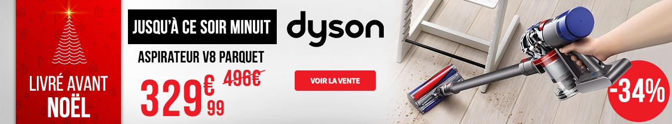 ASPIRATEUR DYSON V8 PARQUET