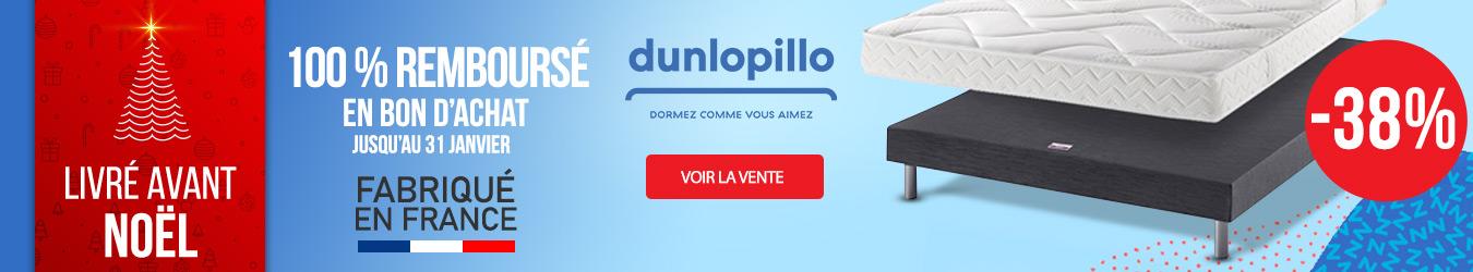 DUNLOPILLO 100% REMBOURSE