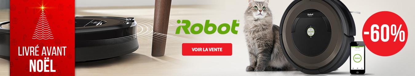 ROBOT ASPIRATEUR IROBOT