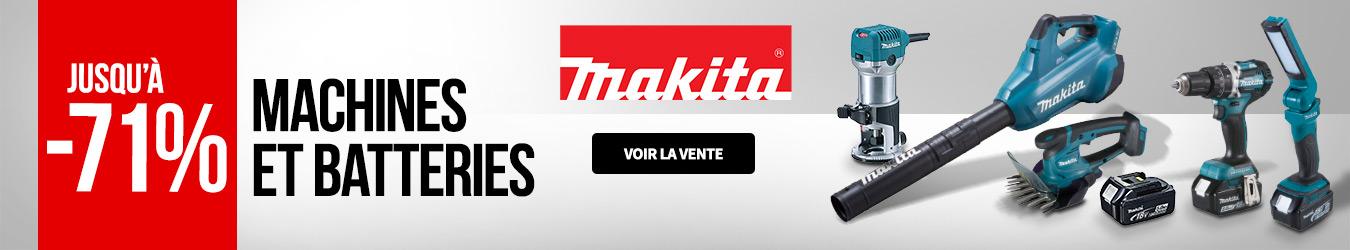 MACHINES ET BATTERIES MAKITA 122019