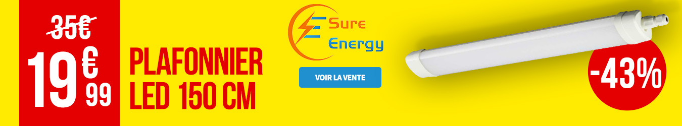 ECLAIRAGE LED SURE ENERGY