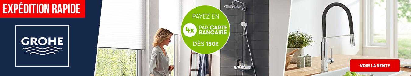 LES ESSENTIELS GROHE 4x DES 150€