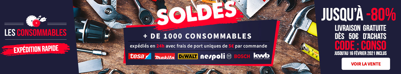 LES CONSOMMABLES SOLDES 2021