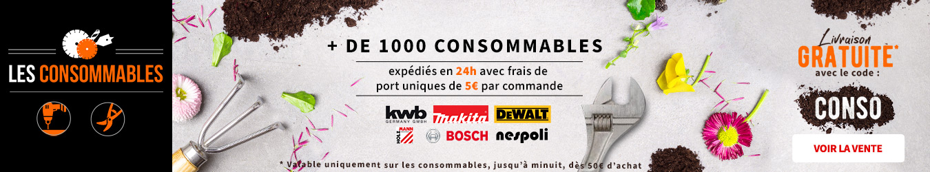 LES CONSOMMABLES CODE