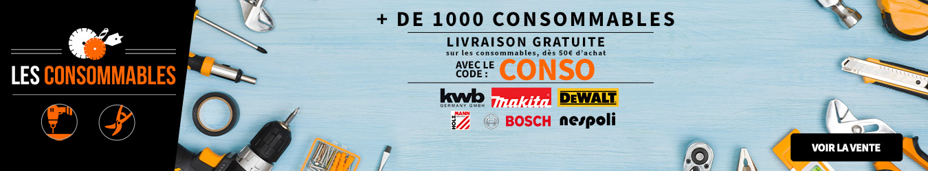 LES CONSOMMABLES CODE CONSO