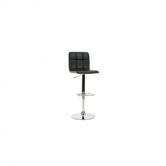 Tabouret de bar confortable design Noir - Noir