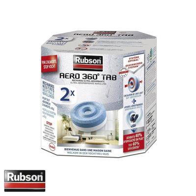 Pack de 2 recharges pour absorbeur d'humidité AERO 360 - parfum neutre