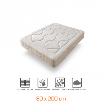 Materasso ROYAL MULTIZONE - 25cm - 80x200cm