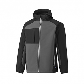 VESTE softshell Two Tone - Gris/Noir
