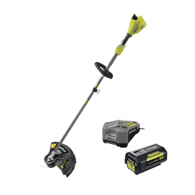 Coupe-bordure BRUSHLESS 36V - coupe Ø33cm - 1 bat Li-Ion 4Ah + chargeur - RY36ELTX33A-140 - 4892210183125