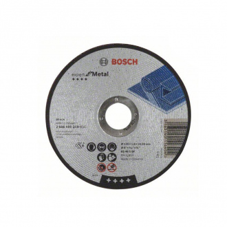 Disque BOSCH ∅125x1,6 mm - Expert for Metal