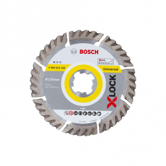 Disque diamant XLock BOSCH ?125mm - Standard for Universal