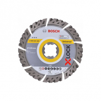 Disque Diamant XLock BOSCH ?125mm - Best for Universal