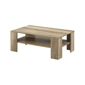 BOBOCHIC Table basse SKYLINE Chêne blanchi