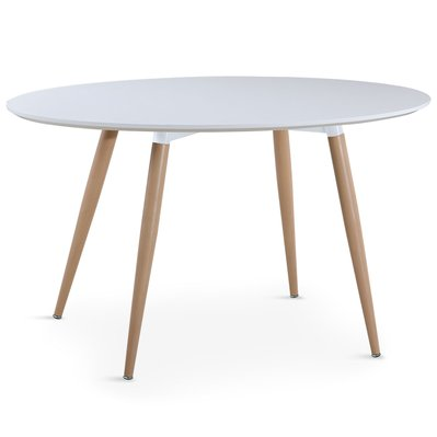 Table ovale scandinave Sissi Blanc - 3327480023266 - 3327480023266