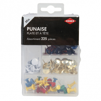 PUNAISE ASSORTIMENT 225PC