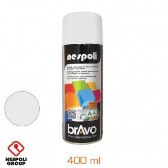 Pintura aerosol 400 ml - branco satinado