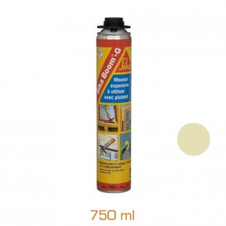 Mousse expansive Sika Boom®-G - aérosol 750 ml