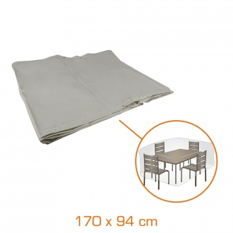 Housse de protection pour table rectangulaire - 170 x 94 x 60 cm