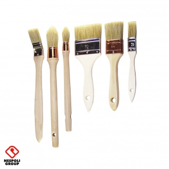 Pack de 6 brosses traditionnelles PRO