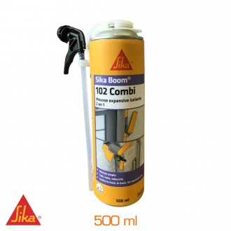Mousse expansive Sika Boom® 102 combi - 500ml