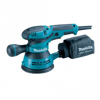Ponceuse excentrique MAKITA 300 W - Ø 125 mm
