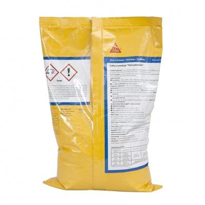 Colle à carrelage intérieur et extérieur pour carreaux 60x60 max (C2-ET) - SikaCeram Xtra - 4 kg ...