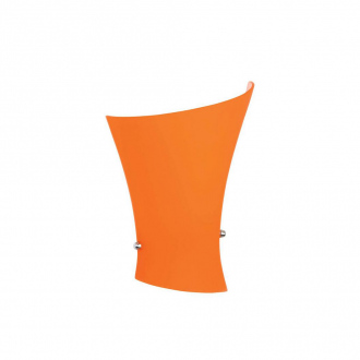 Applique murale Ezgi - 17 x 9 x 25 cm - orange