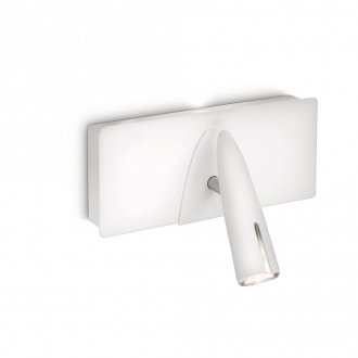 Applique murale LED Benson - 4 W - blanc