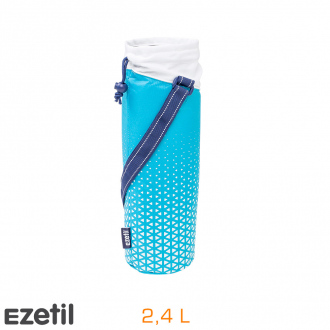 Sac isotherme pliable Holiday - bleu - 2,4L