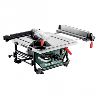 Scie sur table METABO 1500W – Ø254mm – lame inclinable + extensions