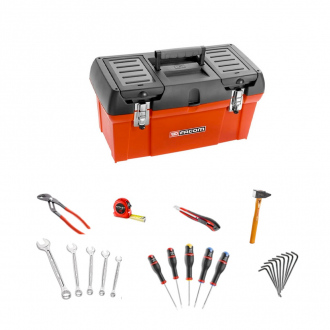 Coffret ToolBox + 23 outils FACOM