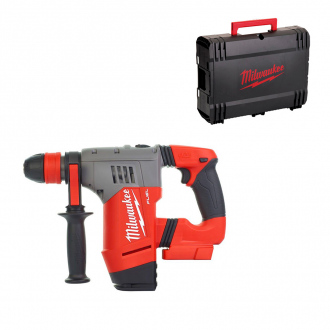 Perforateur burineur SDS-Plus avec mandrin MILWAUKEE 18V - 30 mm - 4,0 J - machine nue & coffret