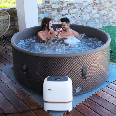 Spa gonflable jacuzzi rond PANAREA 6 places - C-MO069 - 3760093547802