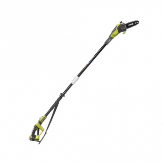 Elagueur sur perche télescopique 18V - guide 20 cm - tube d'extension 95 cm- 1 bat Li-Ion 1,5 Ah + chargeur