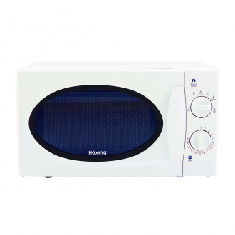 Micro-ondes 700W - plaque Ø24,5 cm - 5 cuissons - blanc