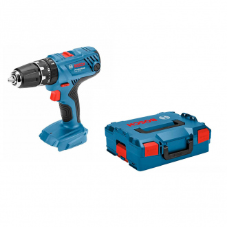 Perceuse à percussion BOSCH 18V - 55 Nm - machine nue + coffret