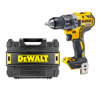 Perceuse visseuse 18V Li-Ion BRUSHLESS Dewalt - machine nue + coffret Tstak