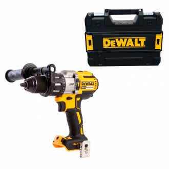 Perceuse à percussion BRUSHLESS DEWALT 18V - 95Nm - machine nue + coffret TSTAK II