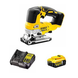 Scie sauteuse 18V XR BRUSHLESS DEWALT - course 26 mm - 1 bat Li-Ion 5Ah + chargeur