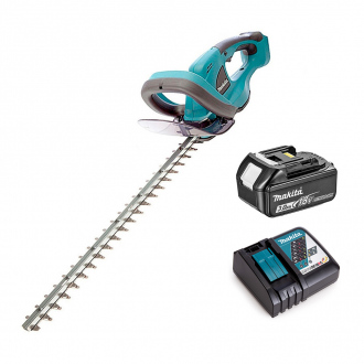 Taille-haies 18V Makita - lame 52 cm - 1 bat Li-Ion 3Ah + chargeur