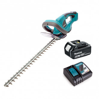 Taille-haies 18V Makita - lame 52 cm - 1 bat Li-Ion 6Ah + chargeur