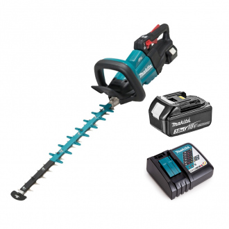 Taille-haie 18V Li-Ion Makita BRUSHLESS - lame 50cm - 1 bat Li-Ion 3Ah + chargeur