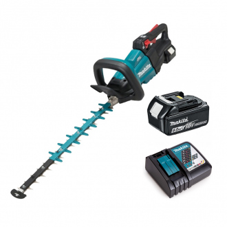 Taille-haie 18V Li-Ion Makita BRUSHLESS - lame 50cm - 1 bat Li-Ion 6Ah + chargeur